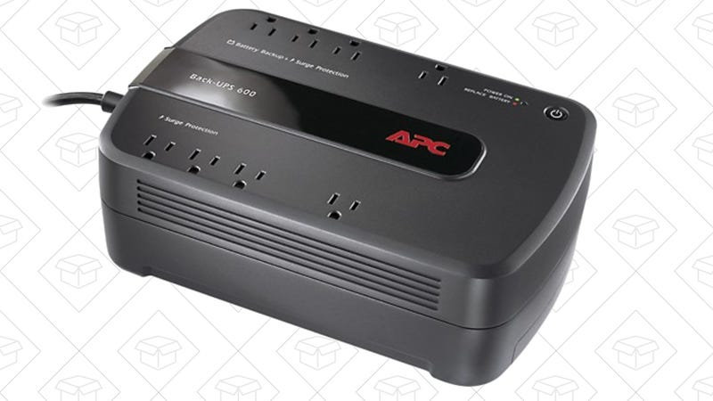 APC Back-UPS 600VA UPS Battery Backup, $45