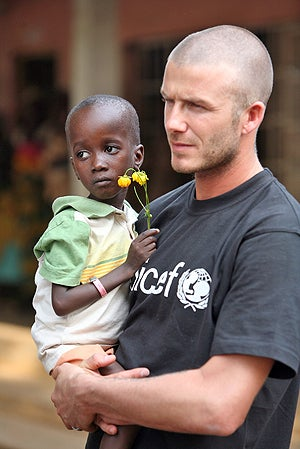 Are the beckhams adopting an african kid rumor after his moving visit to sierra leone david and victoria beckham are hoping to adopt a baby girl from africa spokesman for the couple while they ccuart Images