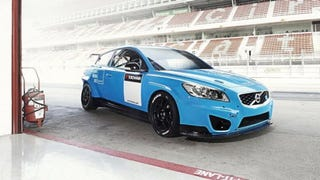 Illustration for article titled Polestar Volvo C30 touring car will see action in Brazil