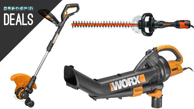 Deals worx lawn tools fandango movie ticket kitchenaid for Garden equipment deals