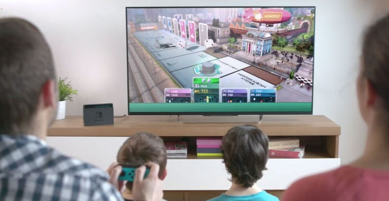 Monopoly To Release On Switch