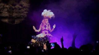 Illustration for article titled Lady Gaga Wears Prada; Kate Spade Rips Off Indie Designer