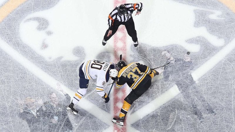 Illustration for article titled New NHL Promotion Allows Fans To Watch Game While Frozen Underneath Ice
