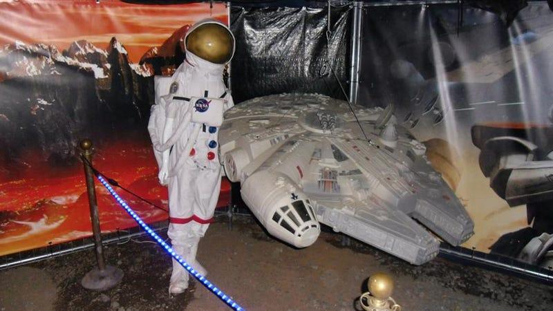 Illustration for article titled Esta es, probablemente, la peor exposición de Star Wars de la historia