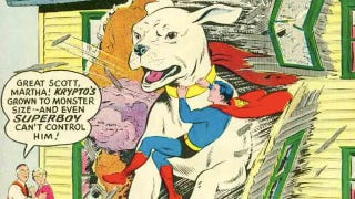 Illustration for article titled 10 times Superman's pets acted like goddamn maniacs