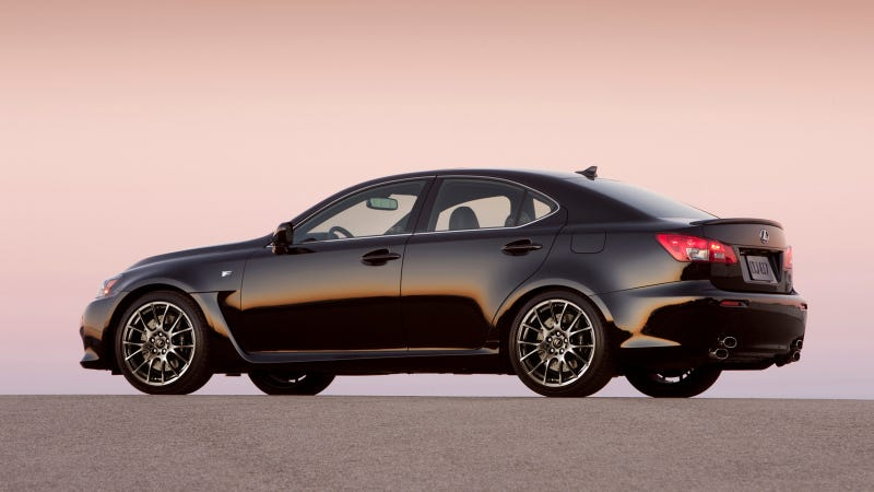 Illustration for article titled Lexus IS F High-Performance Sedan Delivers A Thrilling Driving Experience