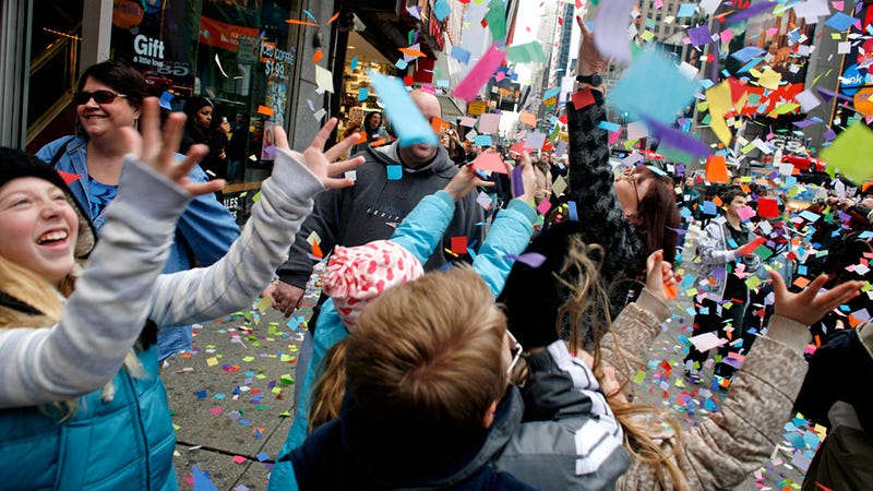 oops  macy u0026 39 s parade confetti included shredded
