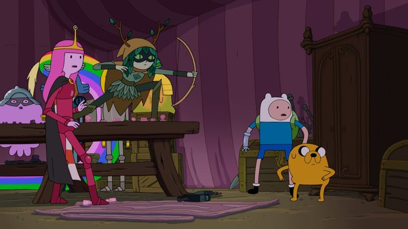 Illustration for article titled Adventure Time concludes with a celebration of what makes it so special