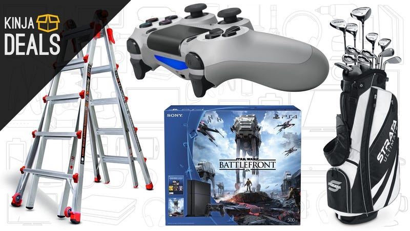 Illustration for article titled Sunday's Best Deals: Little Giant Ladders, B2G1 Video Games, and More
