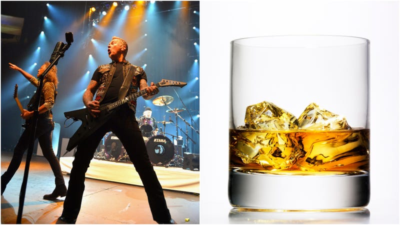 Illustration for article titled Metallica looking to put actual whiskey in a jar