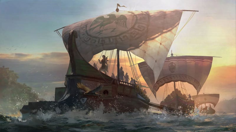 Assassin's Creed Odyssey's Sea Shanties Are Actual Greek Poems