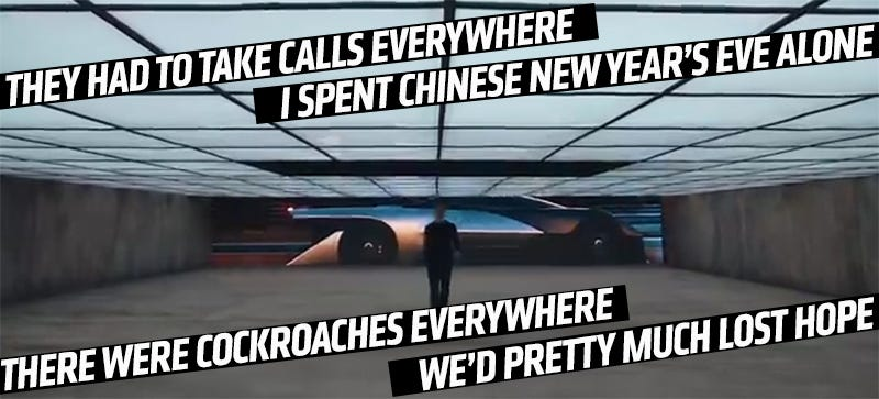 Illustration for article titled Faraday Future Backer's Vision Of Tomorrow Is A Nightmare Tech Dystopia