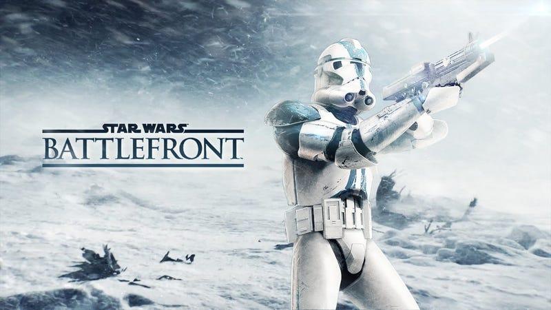 Illustration for article titled Por fin: el videojuegoStar Wars Battlefrontllegará este mismo año