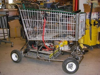 Mit Students Build A Speedy Go Kart Out Of A Shopping Cart