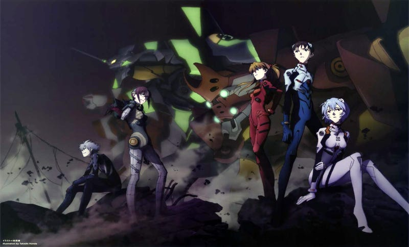 "Illustration for article titled Evangelion: 3.0+1.0. The "":