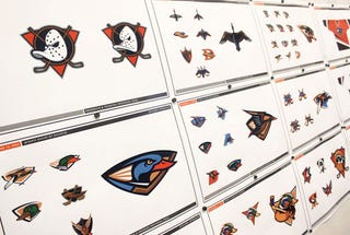 Illustration for article titled The Ducks Logos That Could Have Been