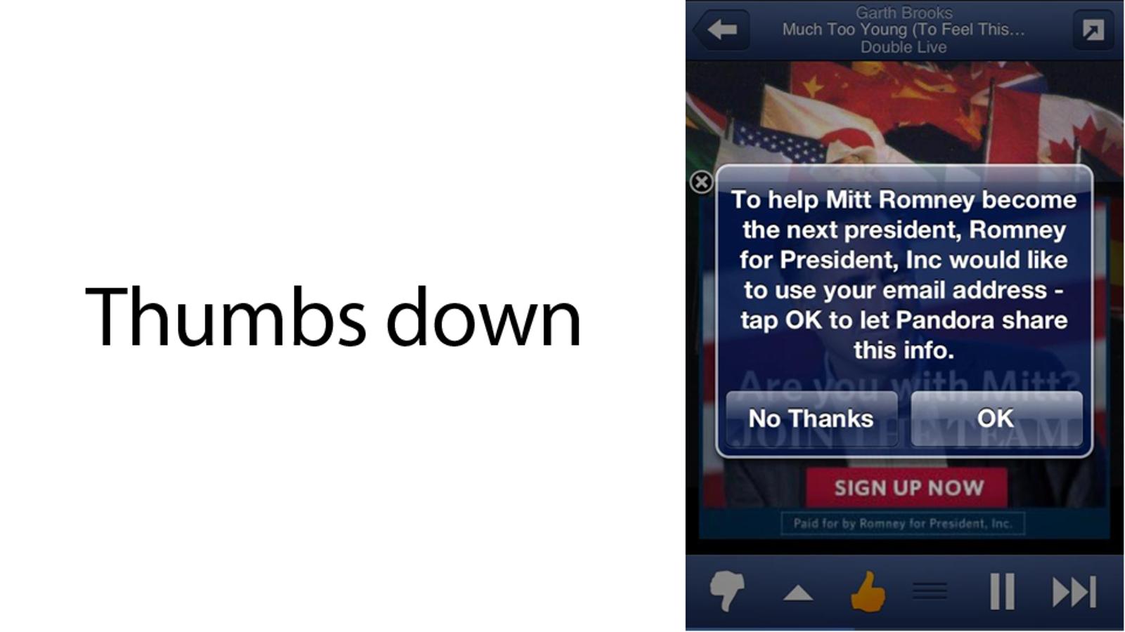 Annoying Political Ads Are Invading Pandora