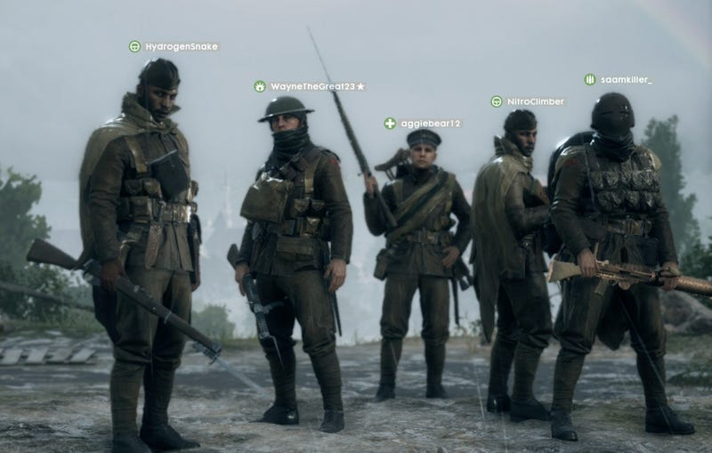 Illustration for article titled Some Battlefield 1 Players Are Sucky Squad Leaders