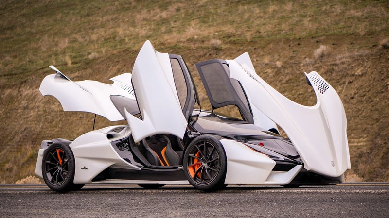 Illustration for article titled SSC Says Its 1,750-Horsepower Tuatara Is Finally on Track for Delivery