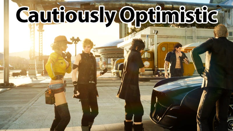 Illustration for article titled I am Cautiously Optimistic about Final Fantasy XV on PC