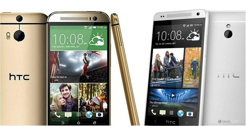 Illustration for article titled Comparativa del nuevo HTC One M8 vs HTC One, ¿qué cambia?