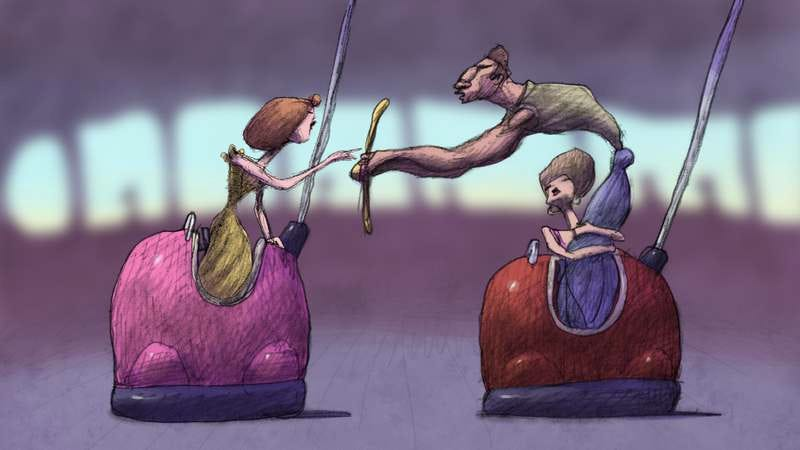Illustration for article titled Bill Plympton disguises a long short as a short feature with Cheatin'