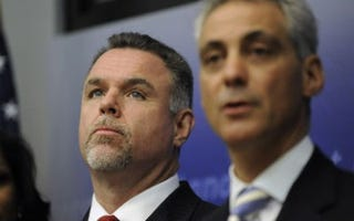 Garry McCarthy and Rahm Emanuel (AP)