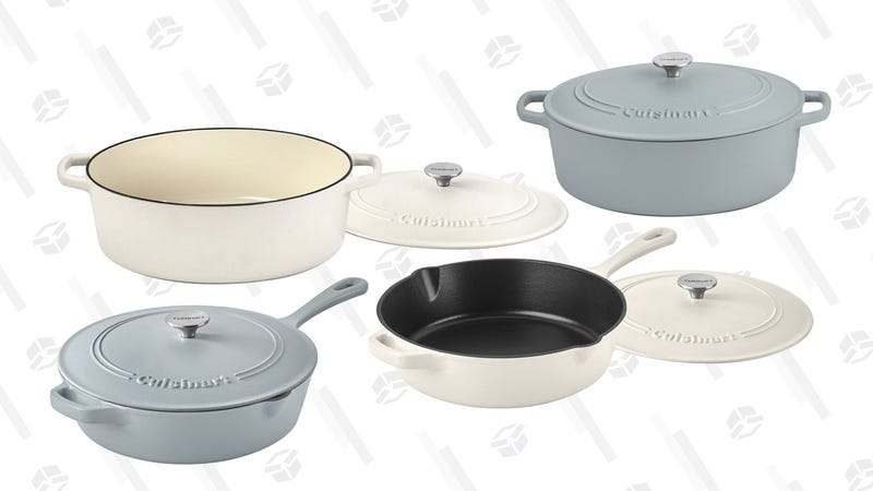 Cuisinart Cast Iron Cookware Gold Box | $70 | Amazon