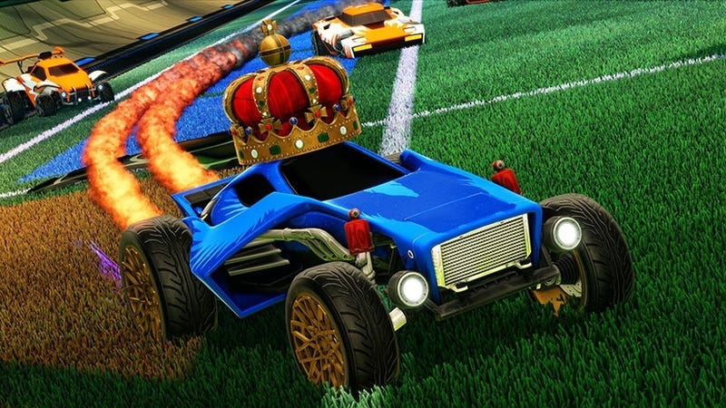Illustration for article titled Rocket League Adding Crates, Skipping Steam Market Features To Avoid Gambling Issues
