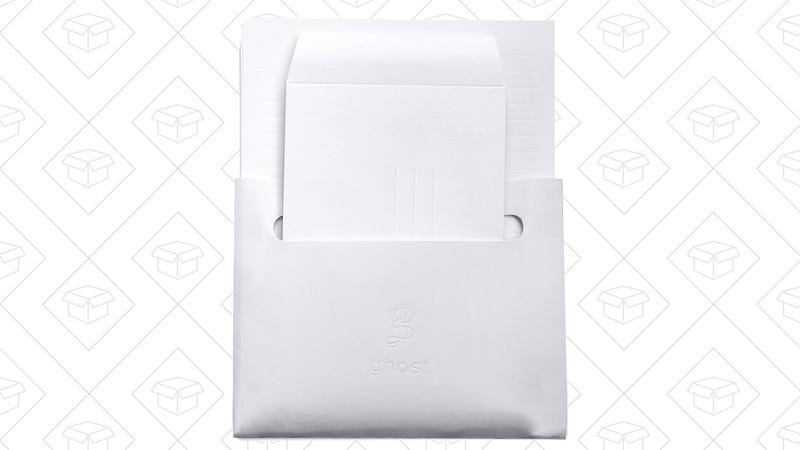 Ghost Paper Stationery Set   $10   Amazon   Discount shown at checkout