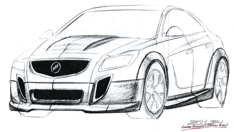 Illustration for article titled The Next GNX Buick Could Build