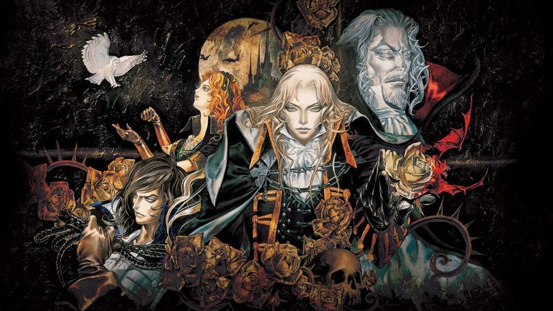 Promotional art: Castlevania: Symphony Of The Night/Castlevania Crypt