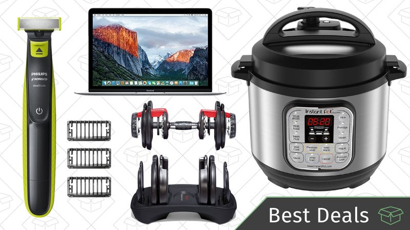 Illustration for article titled Sunday's Best Deals: Instant Pot Mini, Refurb Macbooks, Philips OneBlade, and More