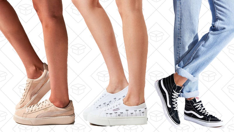 Up to 50% off women's sneakers