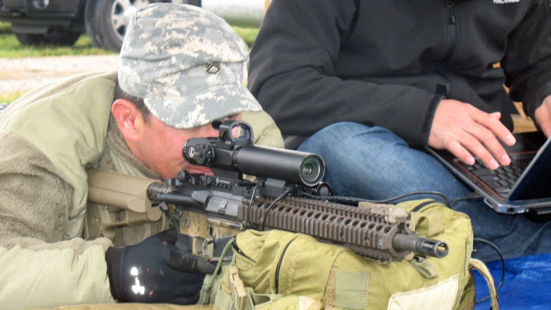 Illustration for article titled US Special Forces' New Sniper Scope Works Like a Human Eye