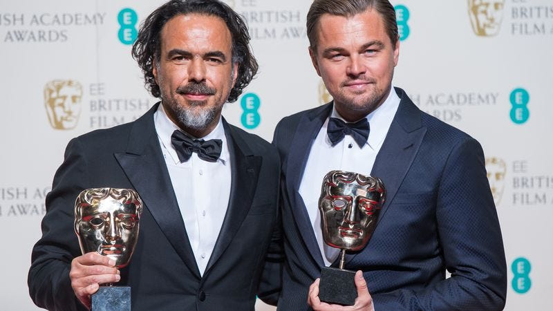 Alejandro G. Ińárritu, Leonardo DiCaprio (Photo: Getty Images)