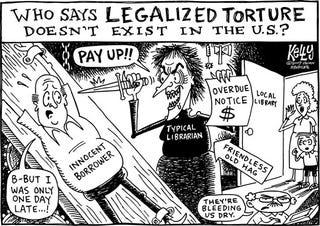 Illustration for article titled Editorial Cartoon - November 19, 2007