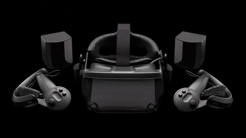 Illustration for article titled Valve's Index VR Headset Ships In June, Full Set Costs $1,000