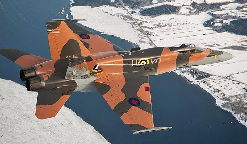 Canada Celebrates Battle Of Britain With This Stunning CF-18