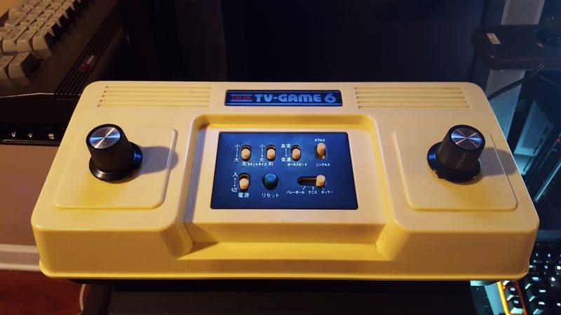 Illustration for article titled Color TV-Game 6, la consola olvidada que Nintendo fabricó diez años antes de lanzar la NES