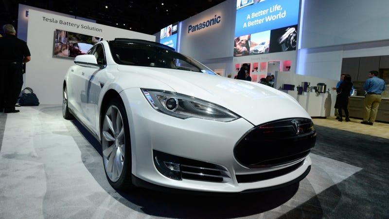 Illustration for article titled Tesla's Stock Skyrockets After Insanely Great Fourth Quarter