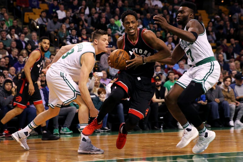 DeRozan powers Raptors to comeback win over Celtics, 114-106