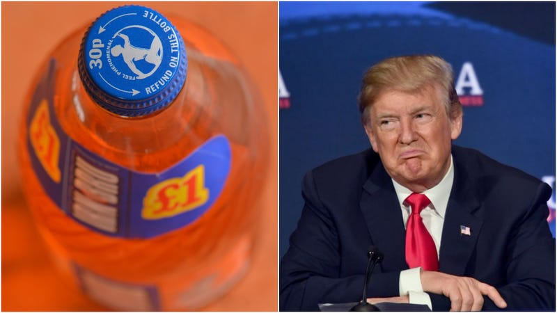 Illustration for article titled Scots blame orange man for pulling beloved orange beverage from golf club