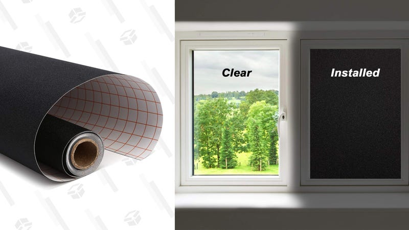Magicfly Total Blackout Window Film | $17 | Amazon | Clip the $2 coupon and use promo code 25VQ6RCR