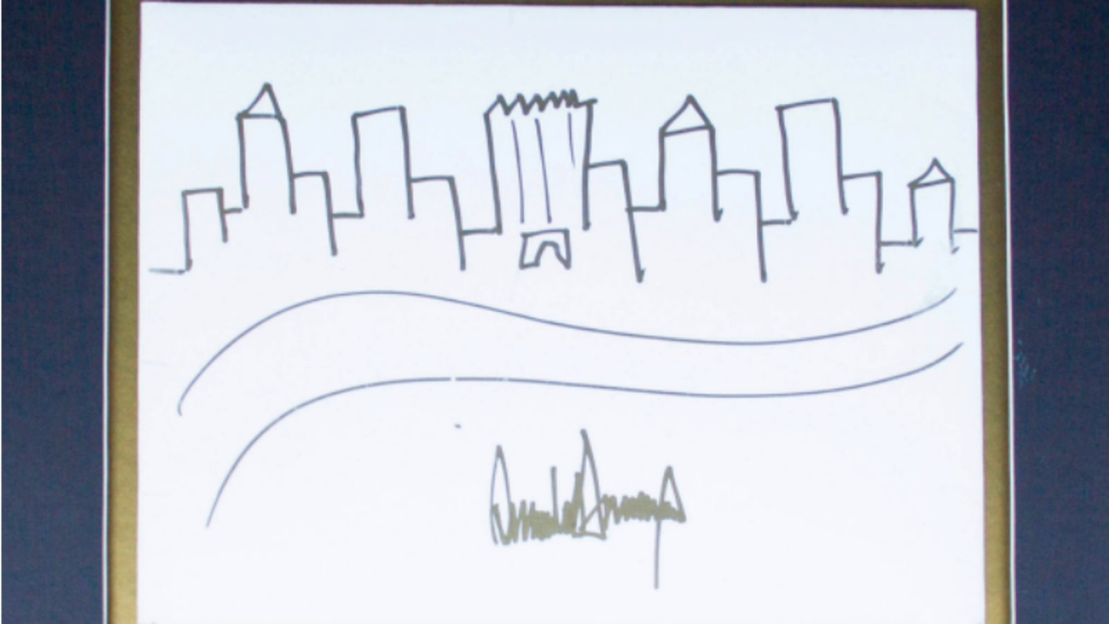 Learn to Draw the NYC Skyline Better Than Donald Trump