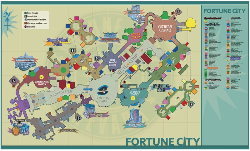 This is dead rising 2s map this is the official map for next months kill zombies in fake las vegas game dead rising 2 via the official capcom blog gumiabroncs Choice Image