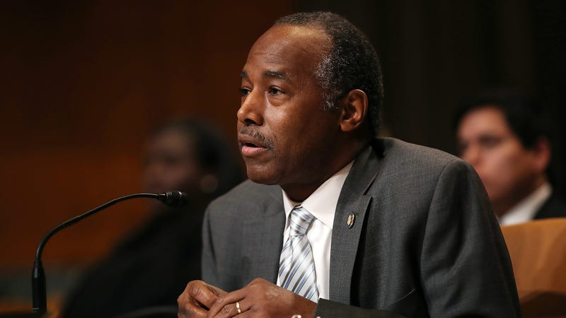 HUD Secretary Ben Carson testifies before the Transportation, Housing and Urban Development, and Related Agencies Subcommittee on Capitol Hill April 18, 2018 in Washington, DC.