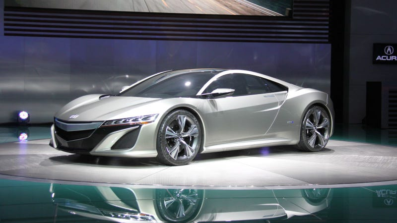 Illustration for article titled Acura NSX Concept: 2012 Detroit Auto Show Live Photos