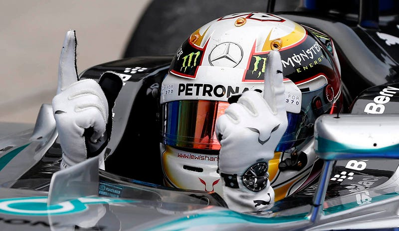 Illustration for article titled El secreto de los Mercedes para dominar este año en la F1