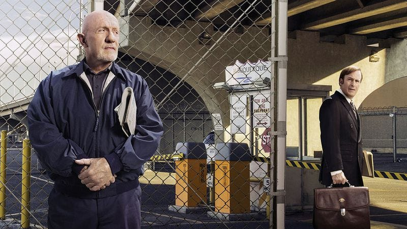 Illustration for article titled Jonathan Banks on garbage jobs and punching a guy twice his size